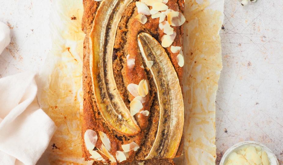 Chocolade chip bananenbrood