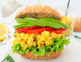 Mango kerrie salade