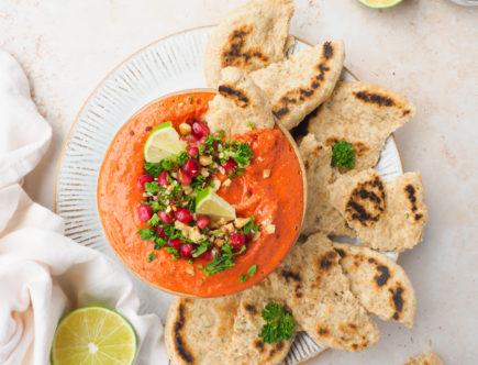 Zongedroogde tomaten muhammara