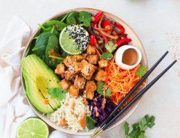 Crispy tofu bowl