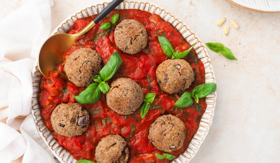 Vegetarische bonen ballen