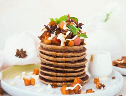 Vanille protein pancakes2