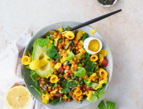 Mango parel couscous salade