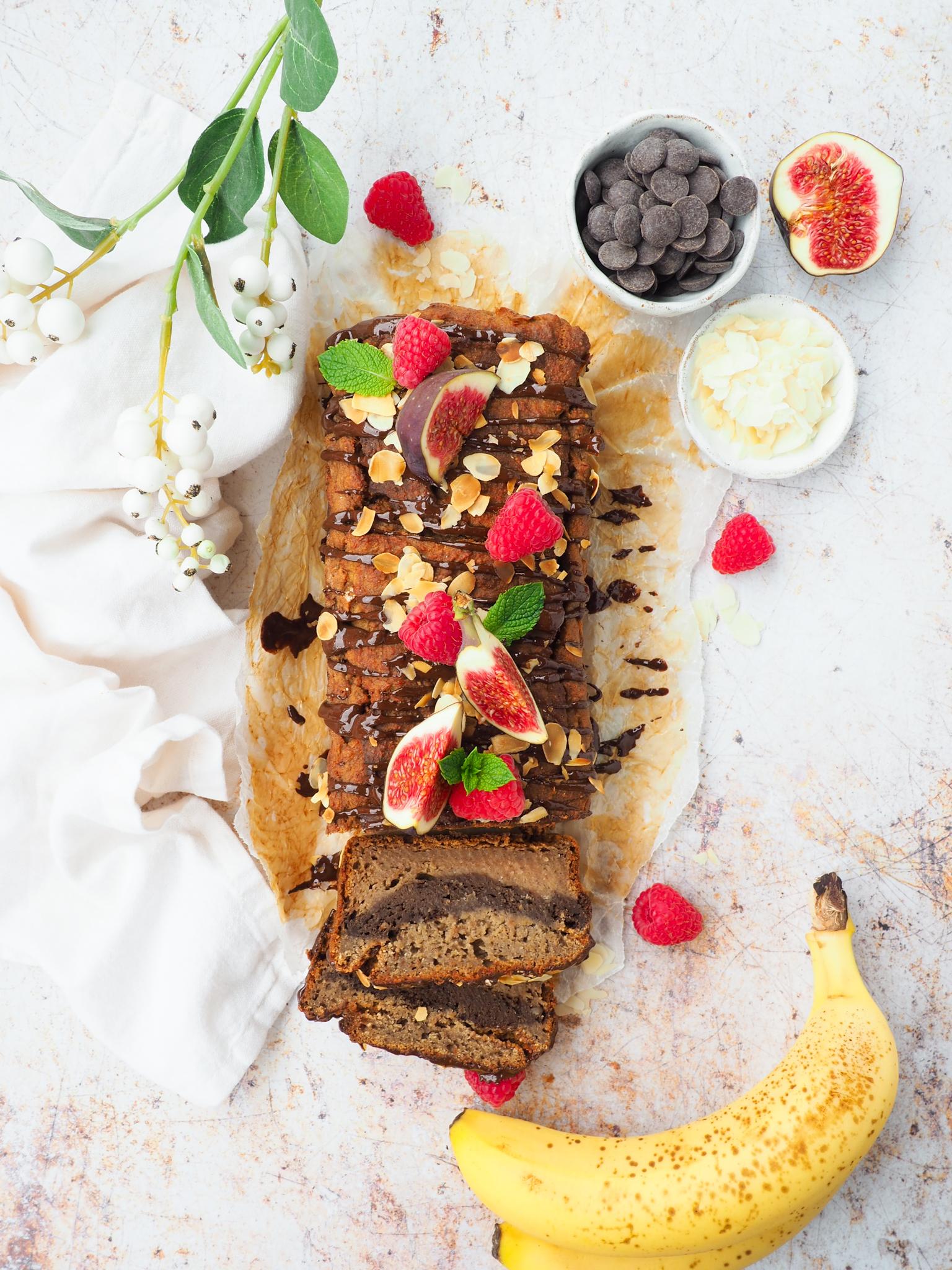 Marmer bananenbrood